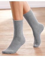 Chaussettes maille jersey bouclette Thermolactyl