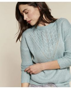 Pull maille toucher doux