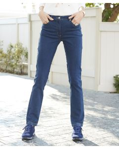 Slim Fit Jeans, Perfect Fit by Damart.