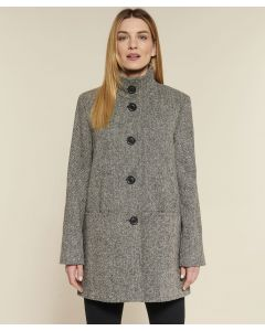 Veste lainage tweed.