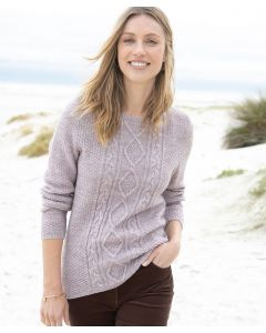 Pullover aus 30% Wolle