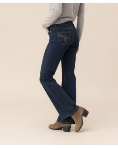 Pantalon bootcut Perfect Fit by Damart.