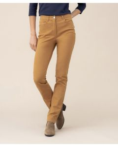 Pantalon coupe taille haute Perfect Fit by Damart.