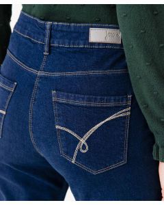 Gerade geschnittene Jeans, Perfect Fit by Damart.
