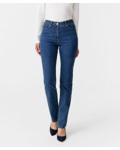 Jean coupe droite Perfect Fit by Damart, 2 statures.