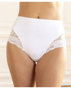 Culotte dentelle effet ventre plat Perfect Body by Damart®