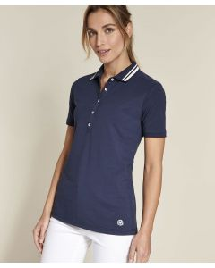 Polo coton stretch uni ou rayé