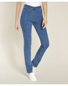 Jeans mit integriertem Shaping-Einsatz, Perfect Fit by Damart