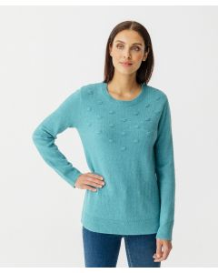Pullover aus Thermolactyl-Musterstrick