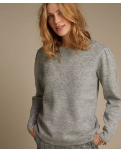 Musterstrick-Pullover mit Thermolactyl.