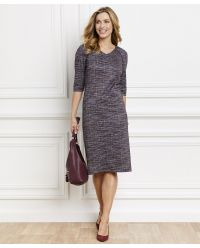 Robe maille jacquard.