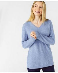 Pull maille mousseuse